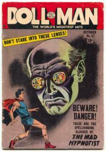 Doll Man #47 1953- Horror- Mad Hypnotist-Torchy VG