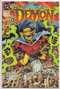 Demon (vol. 3, 1990) # 1 VF Grant/Semeiks