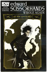 EDWARD SCISSORHANDS #9, NM, Drew Rausch, Kate Leth, 2014, more IDW in store