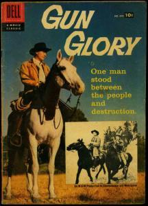 Gun Glory- Four Color Comics #846 1957- Alex Toth Dell Western VG-