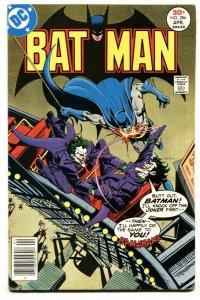 BATMAN #286-1977-DC JOKER COVER-ROLLER COASTER-comic book