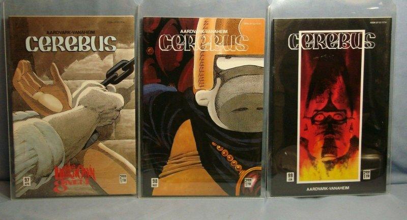 Cerebus Aardvark-Vanaheim Comics 27 Issues RARE 80s Indie Books #88-120 L@@K!!