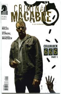 CRIMINAL MACABRE - CellBlock 666 #1 2 3 4 , NM, Steve Niles, Tim Bradstreet,2008