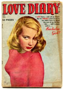 Love Diary #10 1950- Bachelor Girl- Mexican Madness- Golden Age Romance