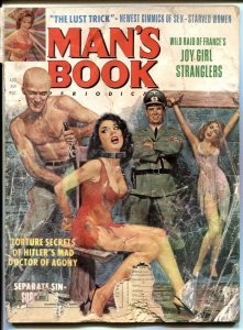 Man's Book August 1965- Torture Secrets of Hitler's Mad Doctor