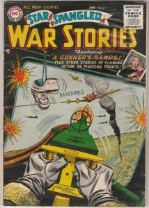 Star Spangled War Stories #41 (Jan-56) VG+ Affordable-Grade One-Man Navy