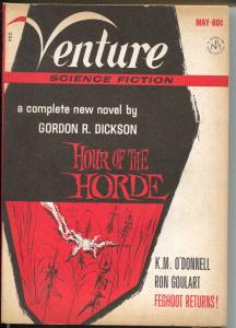 Venture 6/1969-Mercury Press-Gordon R Dickson-sci-fi & mystery pulp fiction-FN-