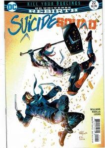 Suicide Squad #22 (2016 v4) Harley Quinn NM