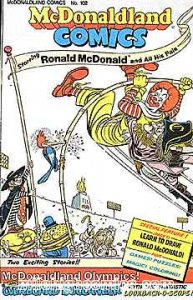 McDonaldland Comics #102, VG+ (Stock photo)