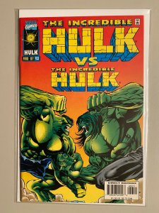 Incredible Hulk #453 Hulk vs. Hulk 8.0 VF (1997)