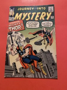 Journey into Mystery #95 (1963) thor vs thor