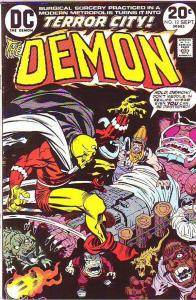 Demon, The #12 (Sep-73) NM- High-Grade Jason Blood, Merlin