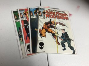 Kitty Pryde And Wolverine 3-6 Nm Near Mint Marvel Comics