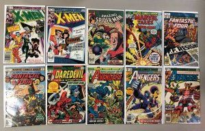 Various Marvel Comics lot
