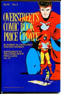 Overstreet's Comic Book Price Update #2 1983-price changes-many pix-VF