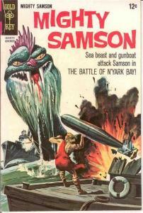 MIGHTY SAMSON 12 G-VG  November 1967 COMICS BOOK