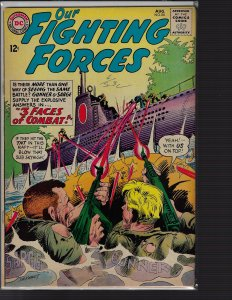 Our Fighting Forces #86 (DC, 1964) F+