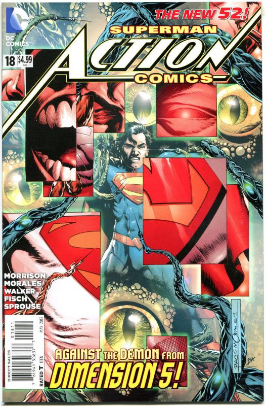 ACTION COMICS #18, VF/NM, 2013, Grant Morrision, 52, more Superman in store