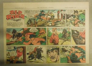 Red Ryder Sunday Page by Fred Harman from 9/1/1946 Half Page Size!