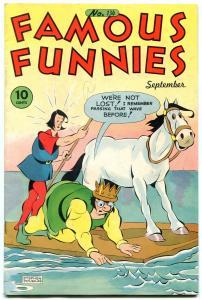 Famous Funnies #134 1945-BUCK ROGERS-GEORGE CARLSON ART f/vf