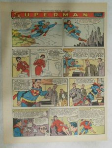 Superman Sunday Page #1019 by Wayne Boring from 5/10/1959 Tabloid Page Size