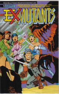 Ex-Mutants: The Shattered Earth Chronicles Winter Special #1 FN; Eternity   save