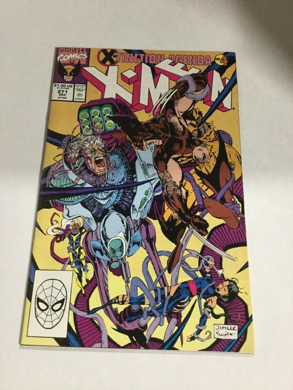 Uncanny X-Men 271 Nm Near Mint Marvel