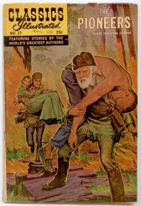 Classics Illustrated #37 HRN 166 - The Pioneers VG/FN 5.0