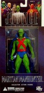 DC Direct Justice League Martian Manhunter Figure - Series 5 - Mint in Box