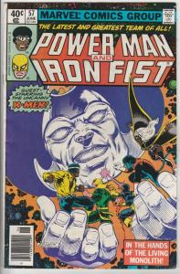 Power Man and Iron Fist #57 (Jun-79) FN/VF Mid-High-Grade Luke Cage, Iron Fist