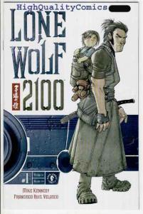 LONE WOLF 2100 #1, NM+. Mike Kennedy, Ronin, Sword, Velasco