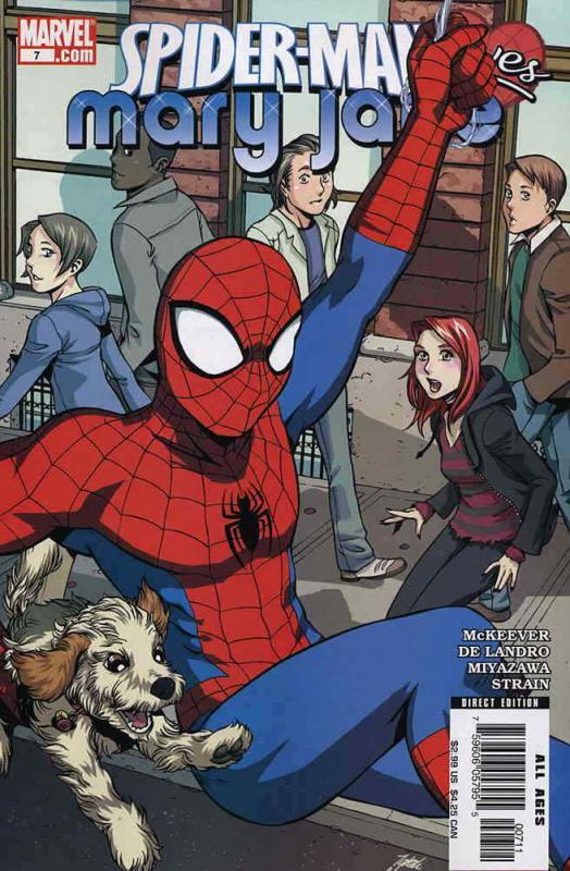 SPIDER-MAN LOVES MARY JANE #3 MARVEL COMICS VF//NM CB907