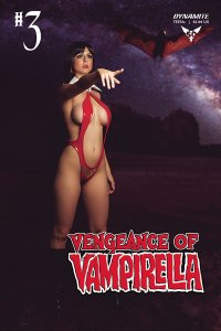 Vengeance Of Vampirella #3 Cvr D Cosplay Variant (Dynamite, 2019) NM