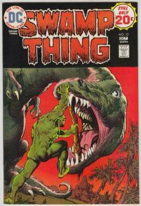 SWAMP THING #12, VF/NM, Horror, 1972 1974, Len Wein, Redondo, Dinosaur