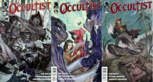 OCCULTIST (2011 DH) 1-3  the COMPLETE 2nd series!