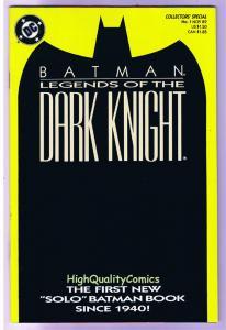 BATMAN: LEGENDS OF THE DARK KNIGHT #1, NM, Shaman, 1989, Hannigan, John Beatty,Y