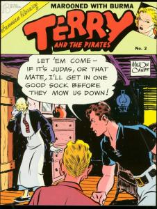 TERRY AND THE PIRATE #2-1986-MILTON CANIFF-TPB-BURMA VG