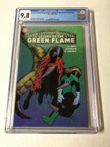 Green Lantern Superman Legend Of The Green Flame 1 Cgc 9.8 Prestige Format