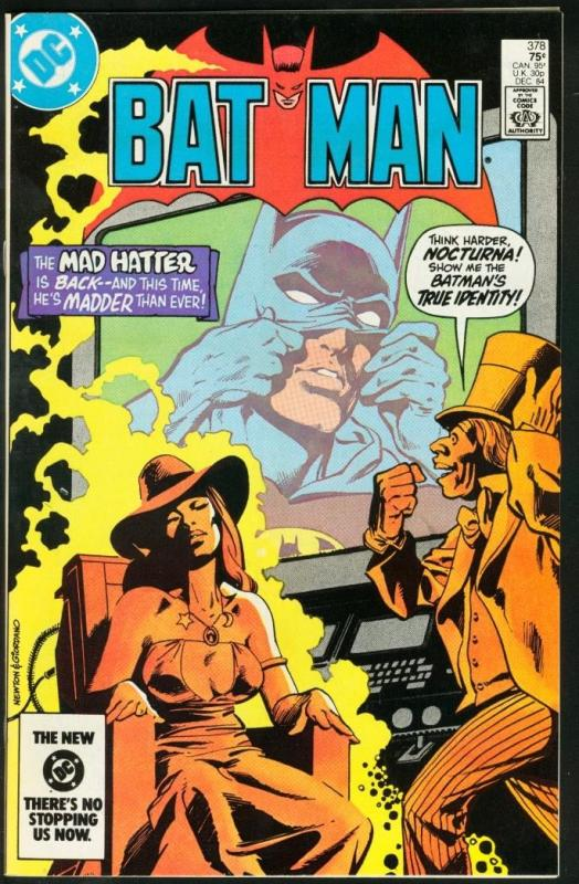 BATMAN #378-1984-DC VF