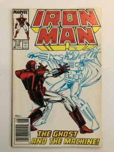 Iron Man #219 - 1st Appearance of Ghost - Ant Man and the Wasp Villain