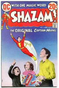 SHAZAM #2 3 4 5, FN, Captain Marvel, Origin retold, 1973, more Bronze in store