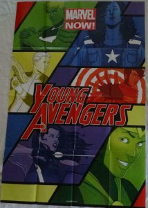 YOUNG AVENGERS Promo Poster, 24 x 36, 2012, MARVEL, Unused more in our store 270