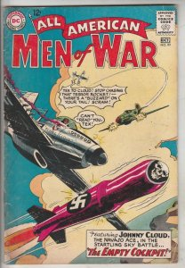 All-American Men of War #99 (Oct-63) FN+ Mid-High-Grade Johnny Cloud