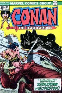 Conan the Barbarian (1970 series) #55, VF (Stock photo)