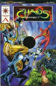 Chaos Effect Alpha #1, NM- (Stock photo)