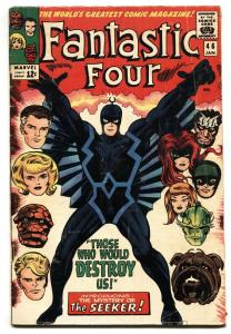 Fantastic Four #46 Silver-Age Black Bolt cover G/VG