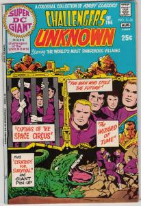Super DC Giant #s-25 (Aug-71) NM Super-High-Grade Challengers Of The Unknown
