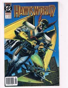 Hawkworld #1 VF DC Comics Comic Book JLA June 1990 DE39 AD12