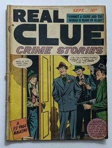 Real Clue Crime Stories Vol. 3 No. 7 (Sept 1948, Hillman) Good 2.0