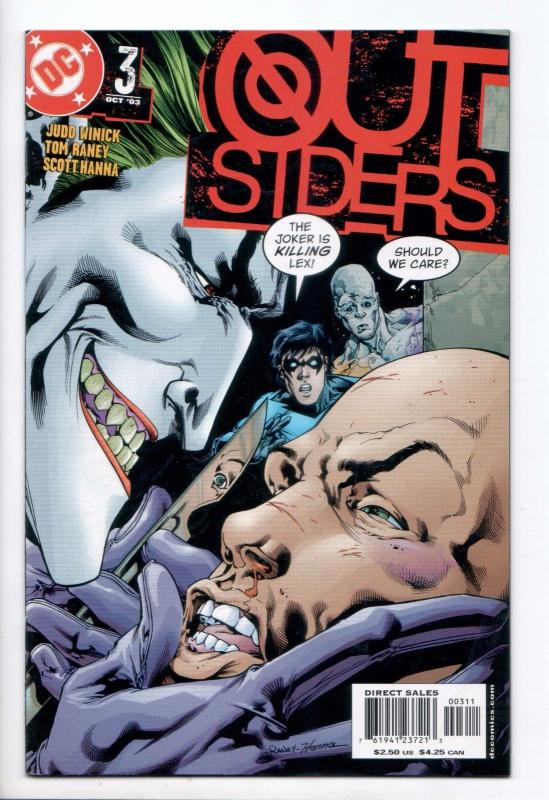 Outsiders #3 - Role Call Part 3 (DC, 2003) - VF/NM